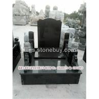 墓碑定做 中式传统墓碑 纪念先辈墓碑雕刻