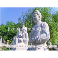大型石雕人物二十四孝 陵园雕刻 天然石材石雕定制