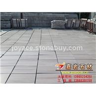 嘉岩石材 2万平现货供应 雅典灰木纹薄板305*305*10mm 亚光面 建筑石材