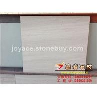 贵州白木纹大理石薄板 喷纱面