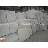 水晶白大理石工程板