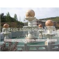 精品喷泉风水球 石雕喷泉 小区摆件