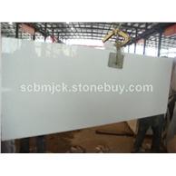 特级水晶白石材台面板