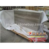 灰木纹薄板 贵州木纹大理石大板 亚光面 出口包装