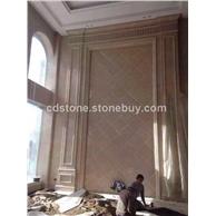 高档石材背景墙定制