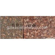 映山红石材批发-贵妃红映山红光板毛板富贵红江西红石材光板毛板大板石材