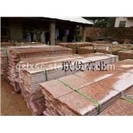映山红石材质量好富贵红石材规格标准G683光泽红石材规格标准
