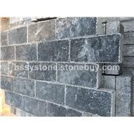 黑色石灰巖墻石地鋪石