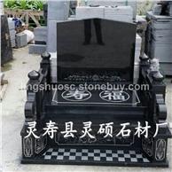 中国黑墓碑价格 中国黑墓碑厂家 山西黑墓碑图片