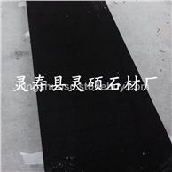 中国黑石材台面板 中国黑荔枝面 中国黑火烧面