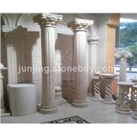 白玉兰石柱