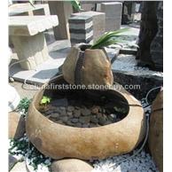 GAF417自然石流水石