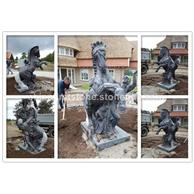 MGP241B士兵与马雕刻