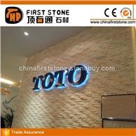 FSSW-471芙蓉白色大理石文化石背景墙