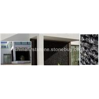 西班牙黑色石英文化石工程
