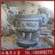 石雕香炉 寺庙青石香炉 石香炉定做