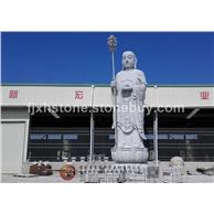 地藏寺石雕地藏王站像