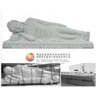 卧佛石雕 释迦牟尼佛卧像