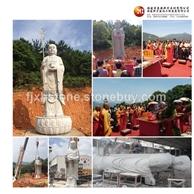 五台寺地藏王石雕