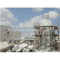 保生大帝石雕像