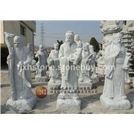 福祿壽石雕像