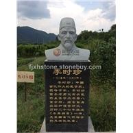 石雕李時珍雕像