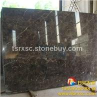 【厂家直销】深啡网天然大理石 黑茶色石材 台面板电视机背景墙