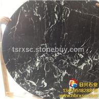 黑白根大理石 大板條板現貨5萬平方 自有礦山工廠直銷 質量可靠