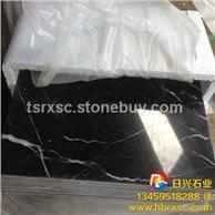 批发定制黑白根大理石 黑白根圆桌线条 天然优质石材 价格优惠