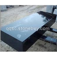 中国黑石材异型多面抛光板