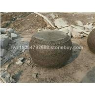石雕柱脚石柱墩石柱础石空心柱墩石凳石鼓