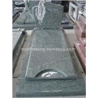 幻彩绿墓碑,幻彩绿欧式墓碑,欧式墓碑生产厂家。