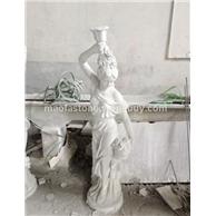 石材雕刻厂家,石材人物雕刻。