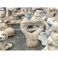 老鹰雕刻石雕 动物雕刻 园林装饰