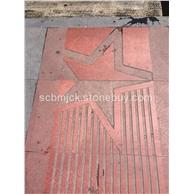 中国红石材雕刻