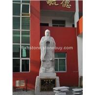 圣賢孔子石雕像
