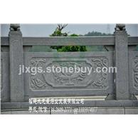 寺庙石栏杆 石栏板制作 黄锈石栏杆