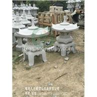 石灯笼厂家 庭院日式石灯 石材雕刻灯笼