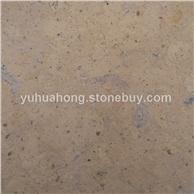 供应石灰石莱姆石姜黄石刷磨面地铺装饰石材