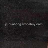 芝麻灰染黑色板中国黑 黑色染板 河南花岗岩 工厂 专业染色板厂家