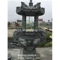 现货青石香炉 石雕香炉定制 石香炉加工厂家