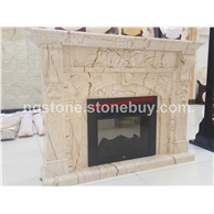索菲特金大理石壁炉架Professional fireplace mantels