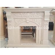 进口奥特曼米黄欧式壁炉架Europe fireplace mantels