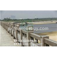 河堤石栏杆 河边桥栏杆 市政石雕栏杆