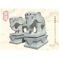 石雕大象 大象雕塑 动物雕刻 神兽雕刻 狮子雕刻 惠安石雕公司