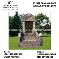 国内陵园中式花岗岩墓碑