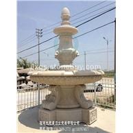 大型喷泉雕塑 庭院石材水钵 石雕水钵新款上线