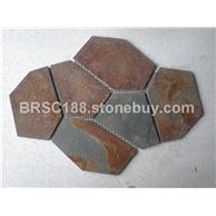锈色 锈色文化石 冰裂纹 龟裂纹 碎拼 厂价直销大量批发
