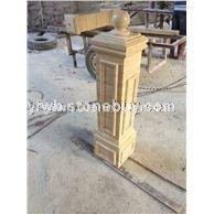 大理石、罗马柱、工艺