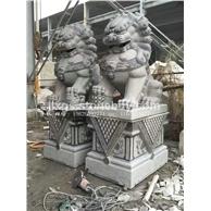 惠安石雕狮子 定做花岗岩狮子 惠安石雕厂家一手货源